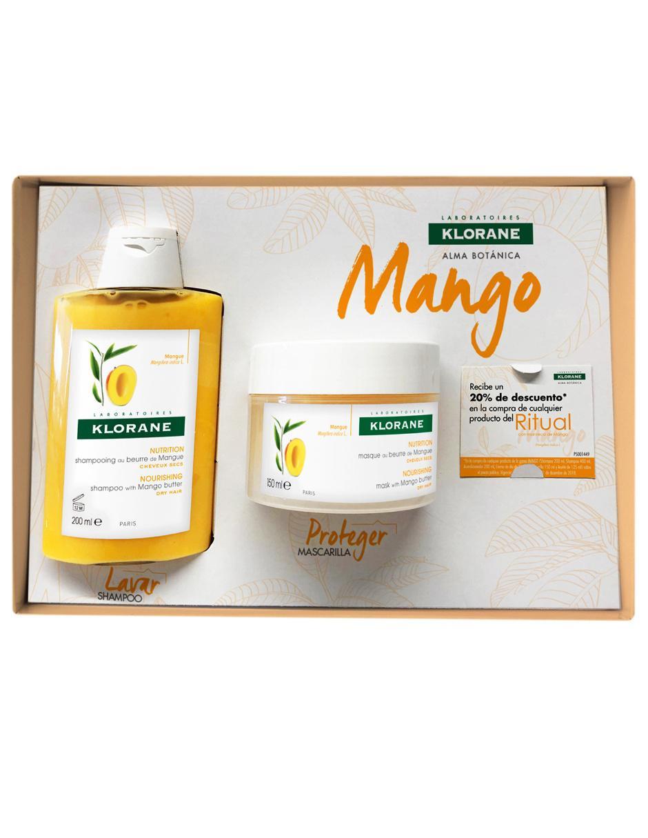4a9628b2eb72 Set de shampoo Klorane Mango